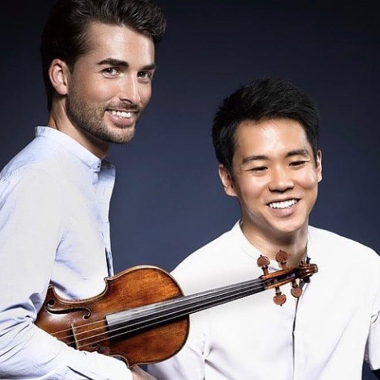Niek Baar (viool) en Ben Kim (piano)